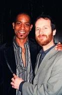 Denis O'Hare and partner Hugo Redwood