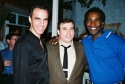 """William Michals, Bill Daugherty (performed """"What Did I Have?"""") and Norm Lewis  Photo"""