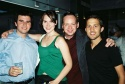 Brian Lowdermilk, Kait Kerrigan, Jamie McGonnigal (NYMF Founding Producer) and Denver Casado