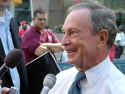 Mayor Bloomberg was on hand for the event