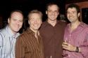 Michael Caprio, Randy Slovacek (Choreographer), Christopher Guilmet (Larry), and Alan Bennett