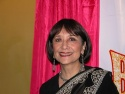 Madhur Jaffrey, who plays Shanti