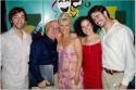 Toby Lawless, Christopher Murney, Ilene Kristen, Britt Shubow and John Lavelle, the  Photo