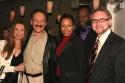 Donna Murphy, Shawn Elliott, Tamara Tunie (Law & Order: SVU), Gregory Generet (Jazz Vocalist), and Vern Thiessen (Playwright)
