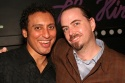 Aasif Mandvi and Ron Russell (Director)