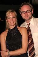 Sharon Richardson & Vern Thiessen (Playwright)