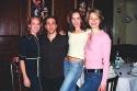 Angie Everett (Ensemble), Brad Aspel (Andy Lee), Alison Levenberg (Ensemble), Jessica Kostival (Ensemble, u/s Dorothy Brock)