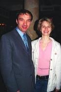 Ilir Rizaj (Tony's DiNapoli Restaurant - Manager) and Jessica Kostival