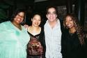 Original 'LITTLE SHOP' Urchins - Sheila Kay Davis, Leilani Jones and Jennifer Leigh Warren with SO IV director Richard Jay-Alexander