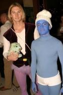 Prince Adam and Hefty Smurf