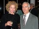 Amy Irving with Press Agent Tony Origlio Photo