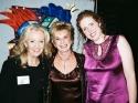 """Hayley Mills, Dena Hammerstein and Marianne Hardart (""""Only Make Believe"""" President)"""
