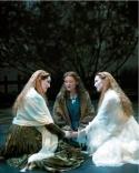 (l to r) Jill Paice, Maria Friedman and Angela Christian Photo
