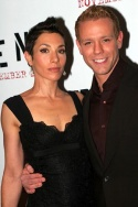Cybele (wife) and Adam Pascal