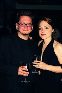 David Nehls (Musical Director) and Denise Summerford (Taboo)