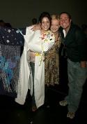 Michael Ball and Maria Friedman congratulating Elena Photo