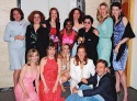 Top Row: Michele Pawk, Mary Testa, Jennifer Laura Thompson, LaChanze, Barbara Walsh, Lea DeLaria, Luba Mason and Kate Shindle Bottom Row: Heather Lee, Sally Murphy, Julia Murney, Carolee Carmello and Michael John LaChiusa