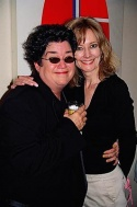 Lea DeLaria and Heather Lee