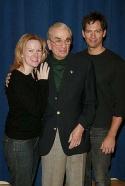 Kathleen Marshall, Richard Adler and Harry Connick, Jr. Photo