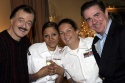 Robert Goulet, Kim Pilletere, Samantha Mumford, and Gary Beach