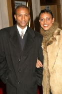 Tommy Davidson and Schele Williams Photo