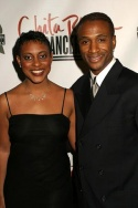 Schele Williams and Tommy Davidson Photo