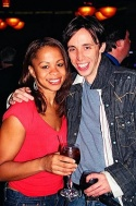 Tracy Nicole Chapman (Caroline, or Change) and Kevin Cahoon (Rocky Horror) Both also appeared in The Lion King...