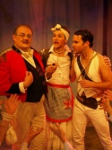 Fred Broom (Major-General), Samuel Holmes (Ruth) and Alan Winner (Pirate King)