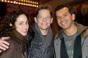 Nina Goldman (Dirty Rotten Scoundrels), Jack Noseworthy, Sergio Trujillo (Choreographer, Jersey Boys)