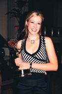 Jennifer Finnigan is the only Daytime TV performer to ever win three consecutive Daytime Emmy's in the same category, one each for each year of her work on The Bold and the Beautiful as Outstanding Younger Actress.