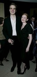 David Harbour and Mireille Enos