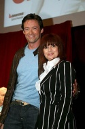 Hugh Jackman and Chrissy Amphlett