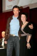 Hugh Jackman and Angela Toohey