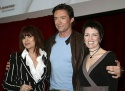 Hugh Jackman, Chrissy Amplett and Angela Toohey