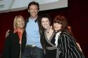 Hugh Jackman, Colleen Hewett, Angela Toohey and Chrissy Amplett Photo