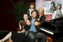 Hugh Jackman, Colleen Hewett, Angela Toohey and Chrissy Amplett