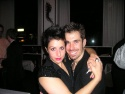 Cast members Tamara Levinson and Jason McDole