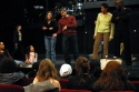 Madeleine Kelly (Dance Captain), Alex Sanchez, Allyson Tucker, and Lloyd Culbreath