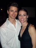 LJ Jellison with fiancée Erin (Rockettes)