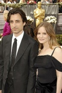 Jennifer Jason Leigh and Noah Baumbach