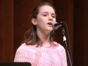"The vocal powerhouse, Addison Timlin, performs a song from ""was"""