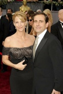 Steve Carell and Nancy Wells