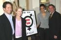 Producer, Eric Falkensteinu , Meryl Streep, Sarah Jones, and Producer, Michael Alden