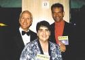John Rubenstein, Diane Lenzi and Brian Stokes Mitchell