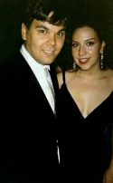 Robert Lopez and wife Kristen