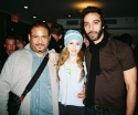 """The Threepenny Opera"" cast members - Adam Alexi-Malle, Brooke Sunny Moriber and Carlos Leon"