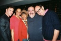 James Royce Edwards with The Threepenny Opera cast members - Terry Burrell, Valisia Lekae Little, John Herrera and David Cale