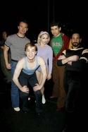 Brad Anderson (Don), Paul McGill (Mark), Jessica Lee Goldyn (Val), Tony Yazbeck (Al)and Michael Paternostro (Greg)