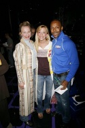 Sarah Solie (LESTAT-Gypsy Robe Winner) with Ashley Amber Haase and T. Oliver Reid (WEDDING SINGER - Gypsy Robe Winner)