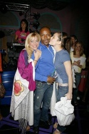 Laura Benanti with Ashley Amber Haase, T. Oliver Reid (WEDDING SINGER - Gypsy Robe Winner)